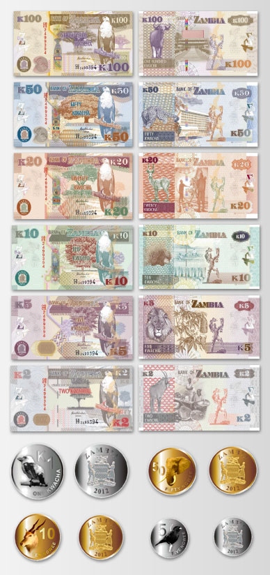 Welcome To The New Zambian Kwacha Zmw