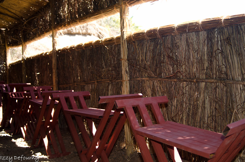 Lower level of the Mwamba hide