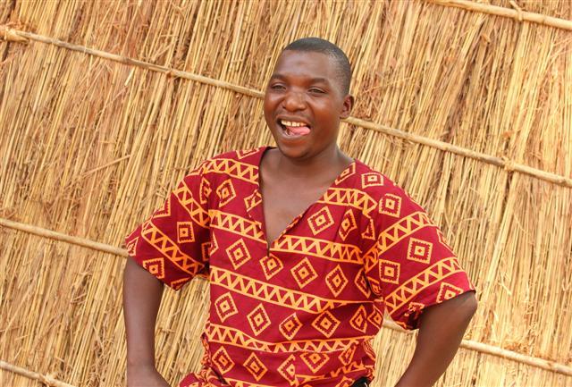 Chick, Kitchen Porter at Mwamba