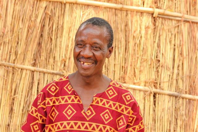 Zimba, waiter at Mwamba