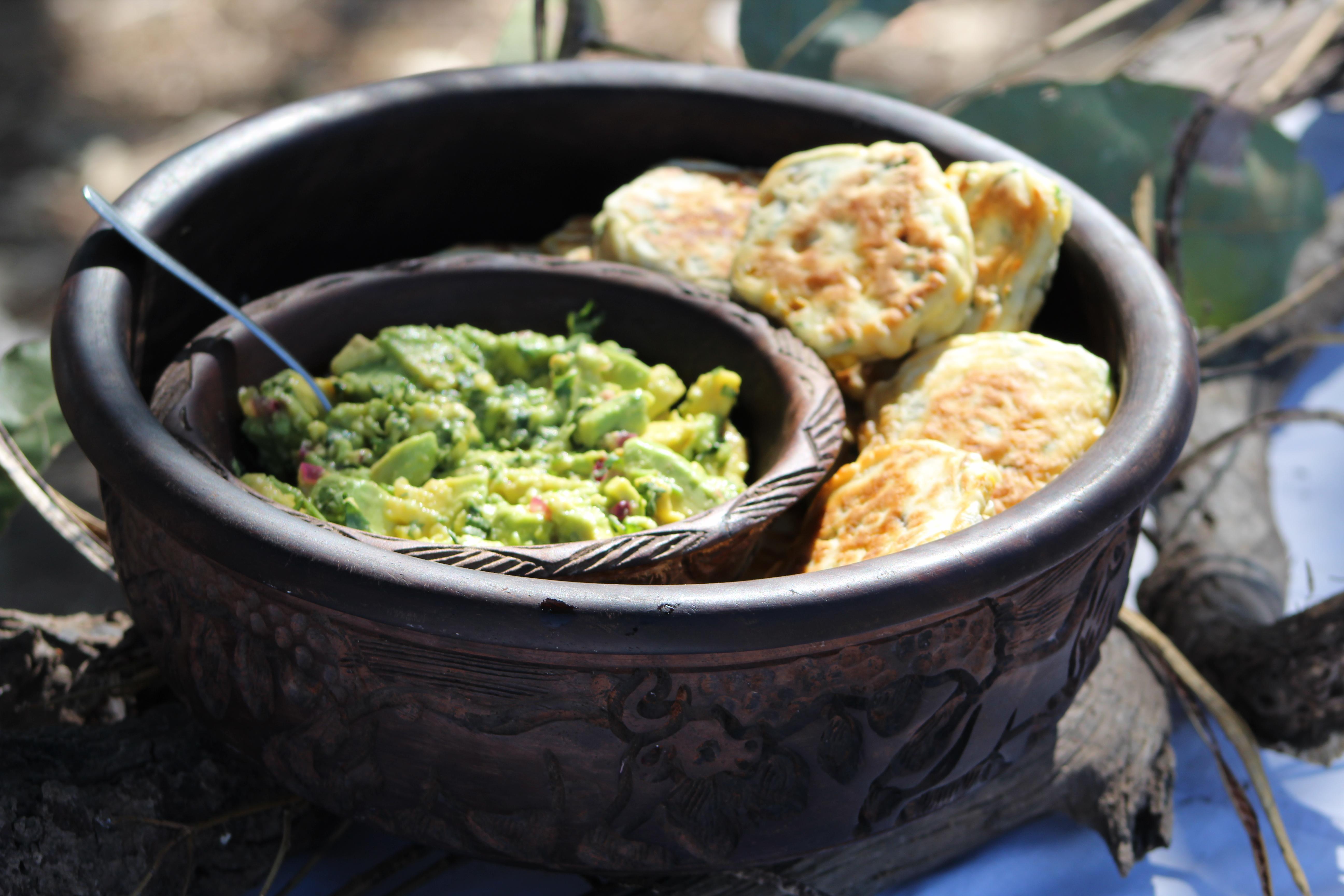 Kaingo Kitchen Sweetcorn fritters